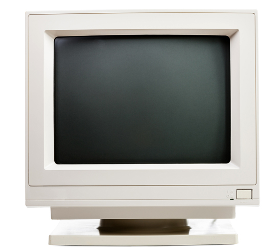 Старый монитор
