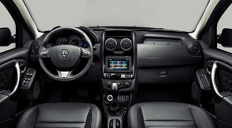 Renault Duster внутри