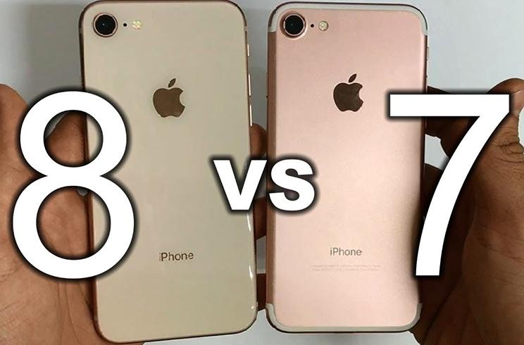 Iphone 8 и Iphone 7
