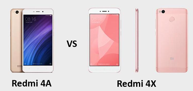 Xiaomi Redmi 4a или 4x