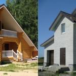 Что лучше выбрать дом из бруса или из газобетона?