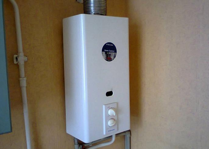 Газовая колонка дома