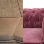 Что лучше выбрать для дивана флок или велюр?