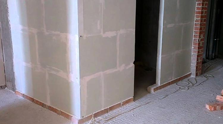 Дом из пазогребневых плит