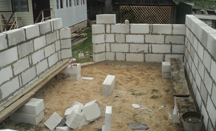 Строительство из пеноблока
