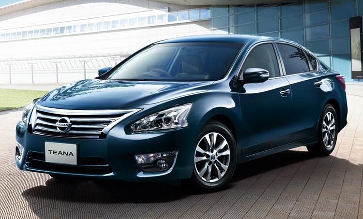 Новый Nissan Teana