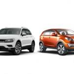 Volkswagen Tiguan или Kia Sportage: сравнение и что лучше