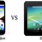 В чем разница между смартфоном и планшетом