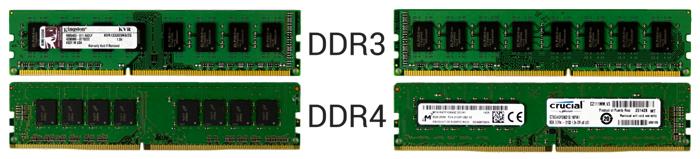 Сравнение DDR 3 и DDR 4