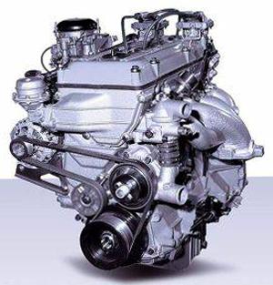 Двигатель с карбюратором