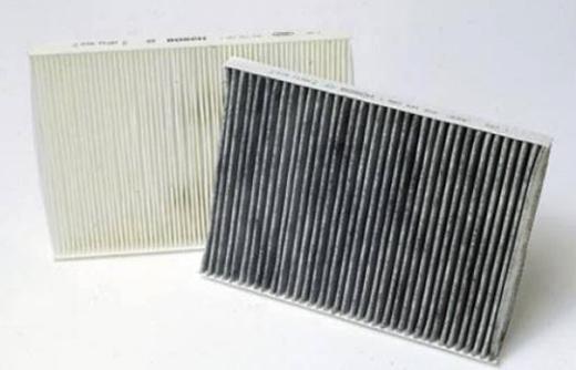 Обычный и угольный фильтр