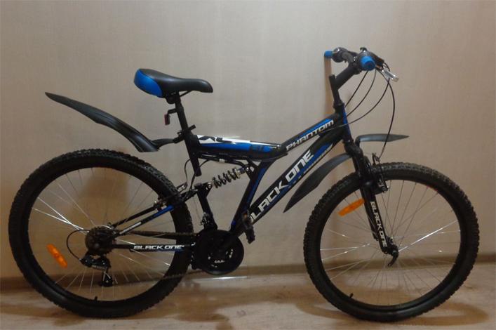 Обычный горный велосипед