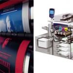 Чем офсетная печать отличается от цифровой