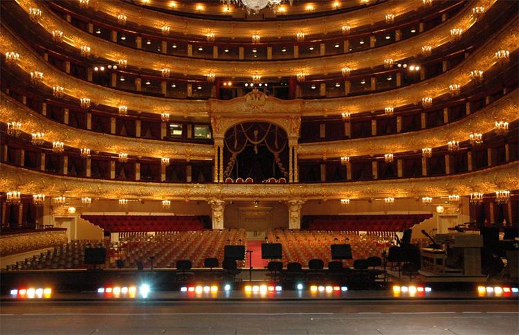 Большой театр внутри