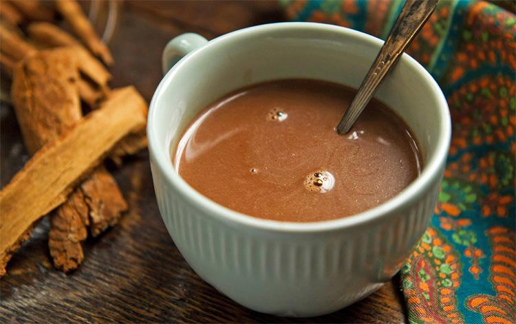 Напиток горячий шоколад