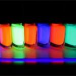 Флуоресцентные и люминесцентные краски — основные отличия