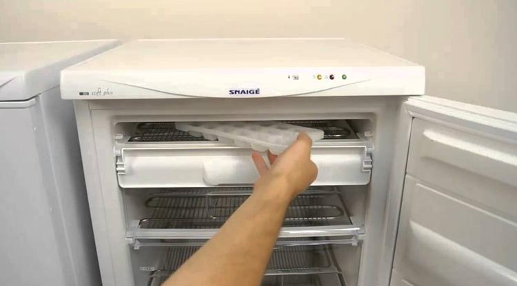Новая морозильная камера