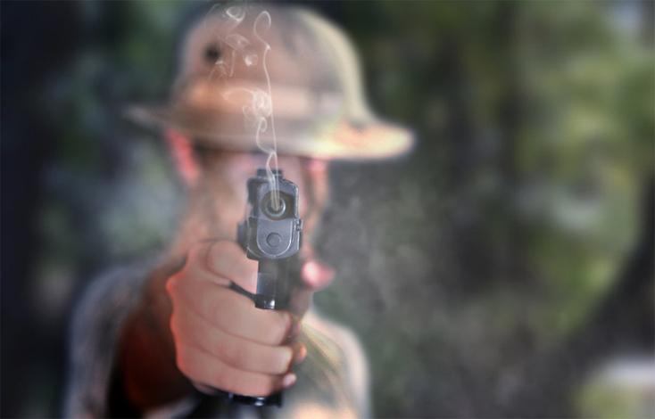 Выстрел пистолета