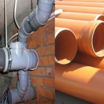 Чем отличаются серые канализационные трубы от оранжевых