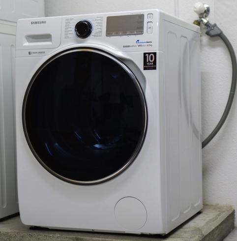 Обычная стиральная машинка
