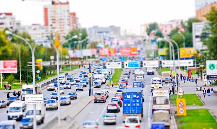 Дорога для автомобилей