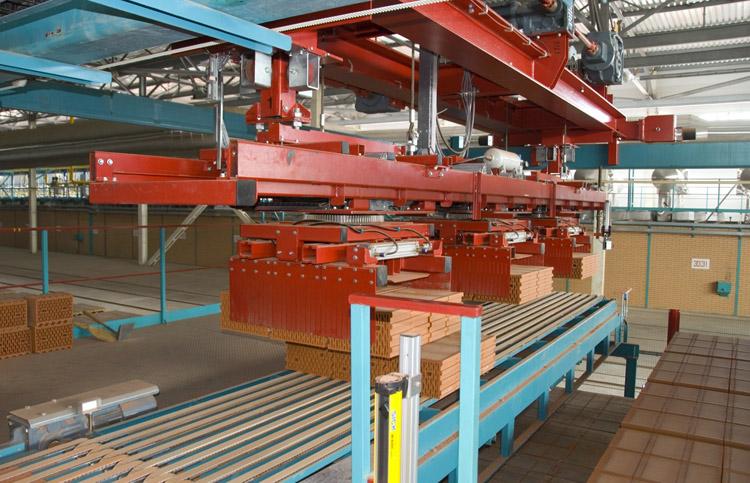 Производство красного кирпича
