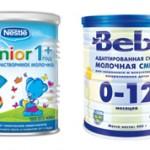 Молочная смесь и детское молочко — чем же они отличаются?