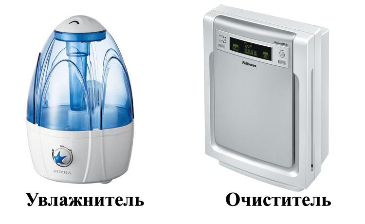 Отличия приборов