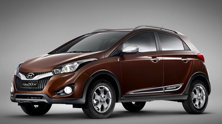 Кроссовер Hyundai – HB20X