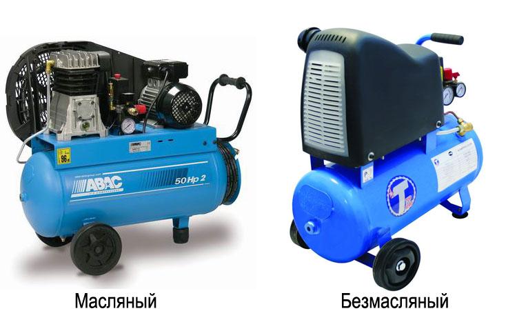 Виды компрессоров