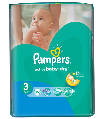 Pampers active baby – Dry