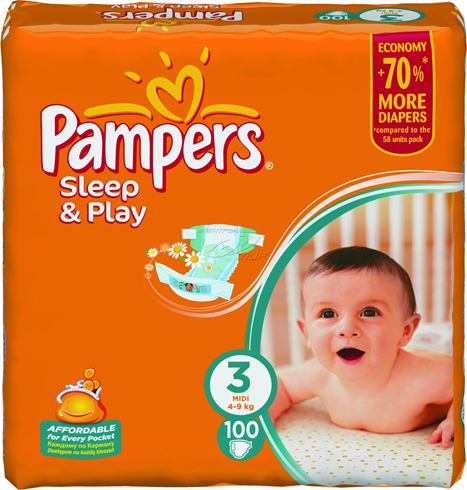 Pampers Sleep and Play