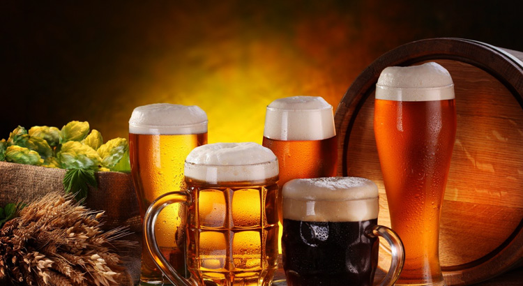 Светлое и темное пиво