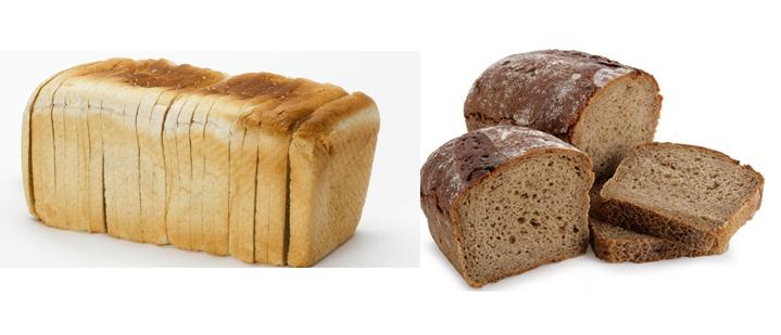 Белый и черный хлеб