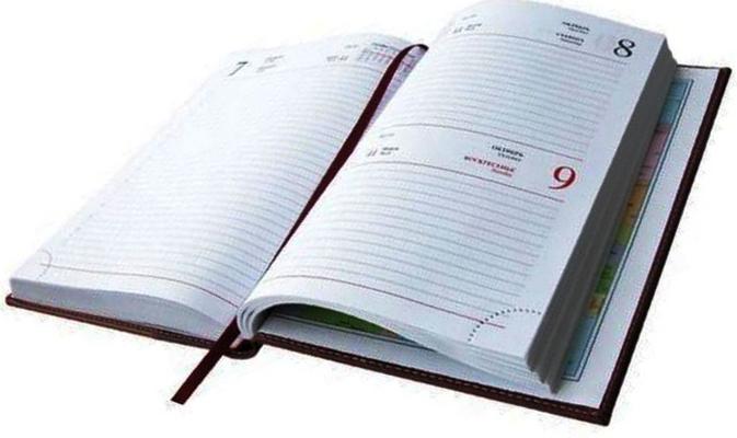 Бумажный ежедневник