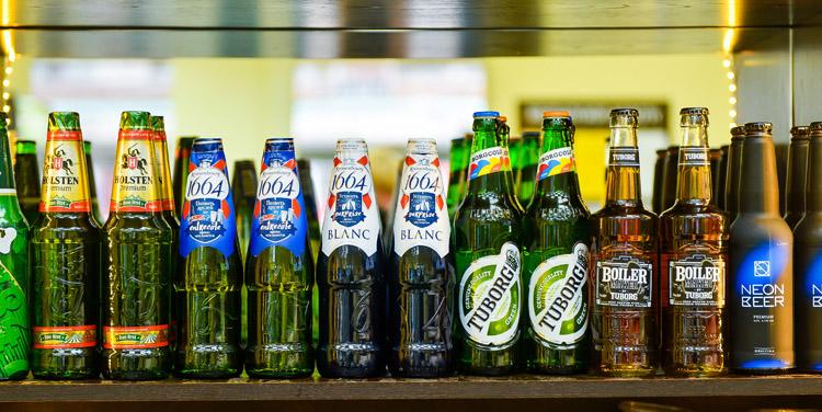 Пиво бутылочное