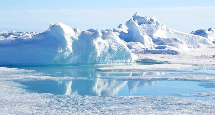 Льды северного полюса