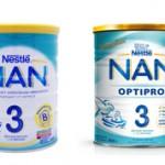 Чем отличаются молочные смеси NAN и NAN OPTIPRO