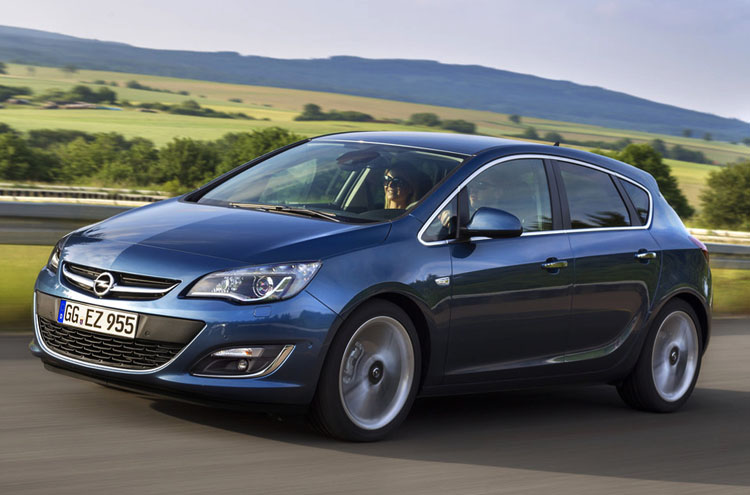 Хэтчбек Opel Astra