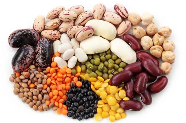 Много растительного белка