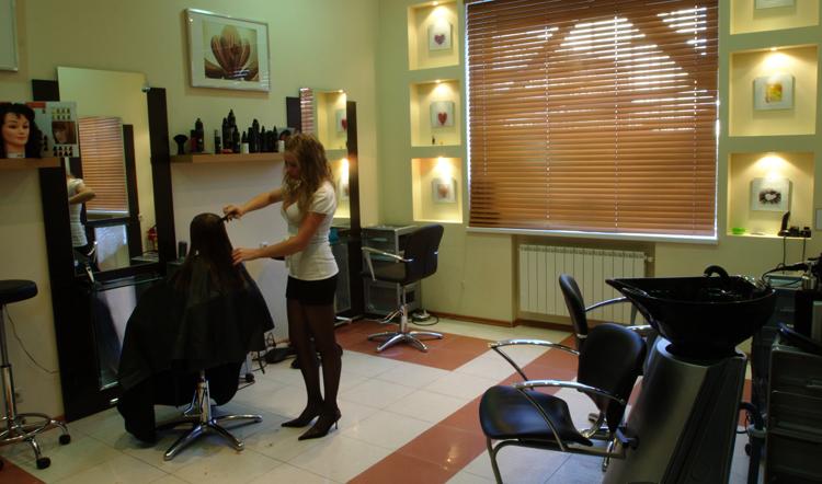 Женская парикмахерская