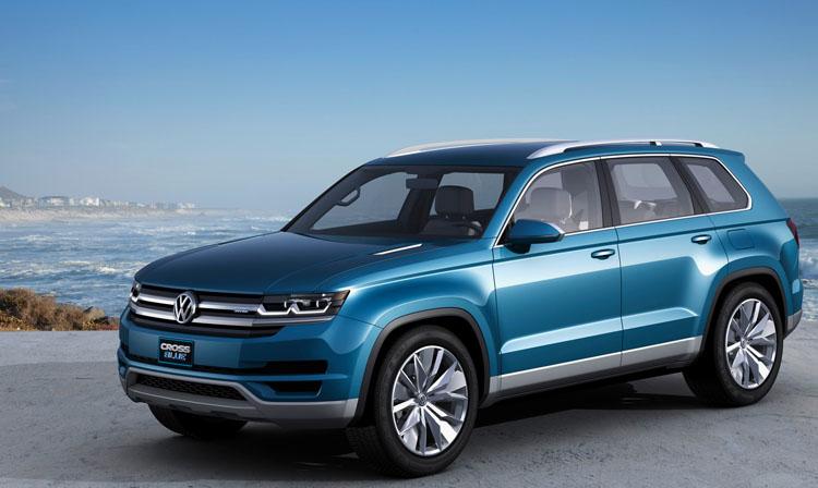 Паркетник Volkswagen