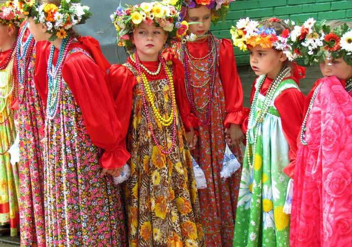 Молодые русские
