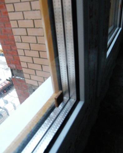 Окно из двойного стеклопакета