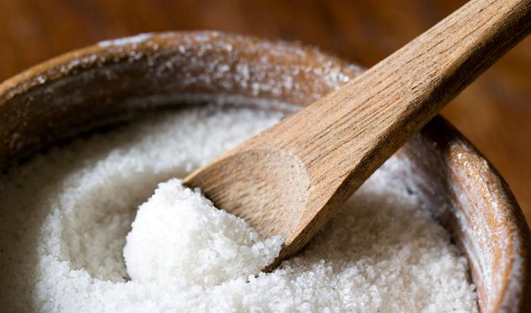 Свежая поваренная соль