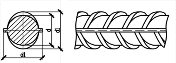 Профиль арматуры А500