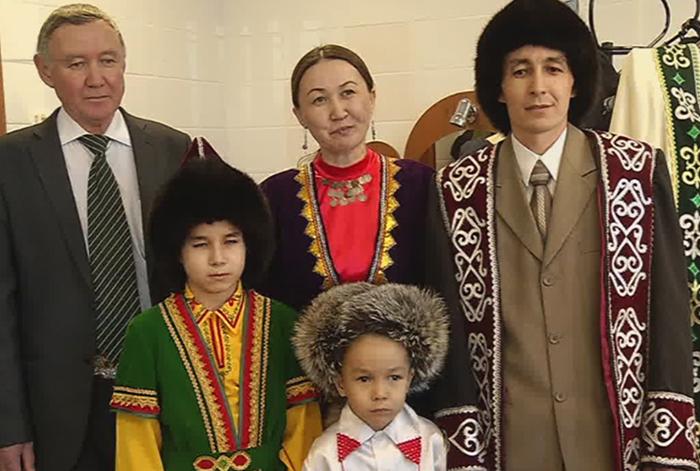 Башкирская семья