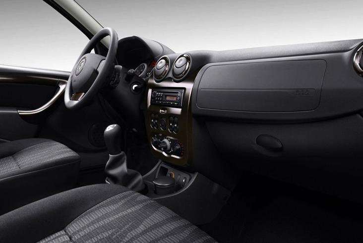 Renault Duster - салон