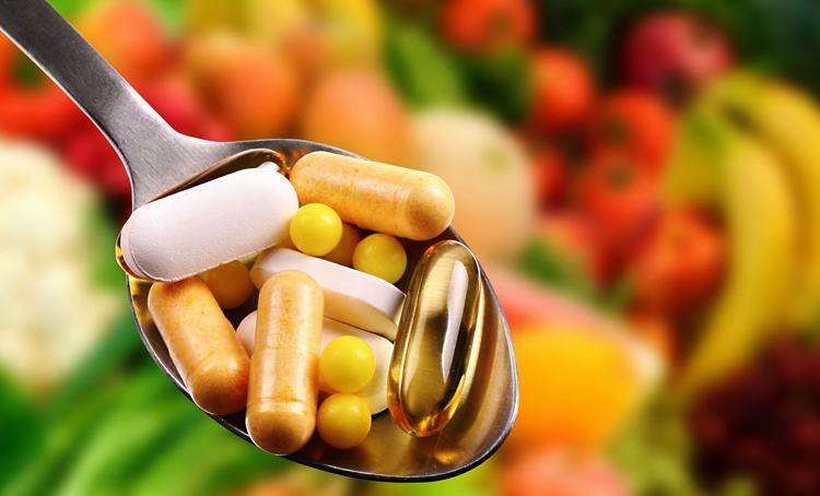 Капсулы и витамины