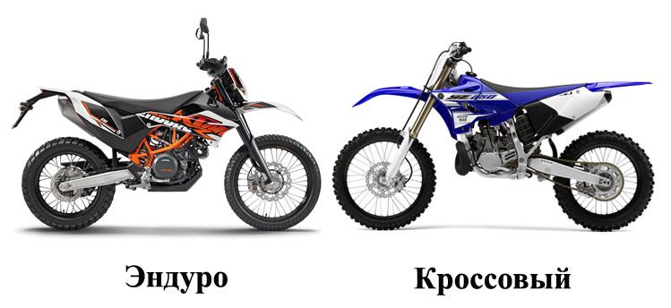 Различия мотоциклов